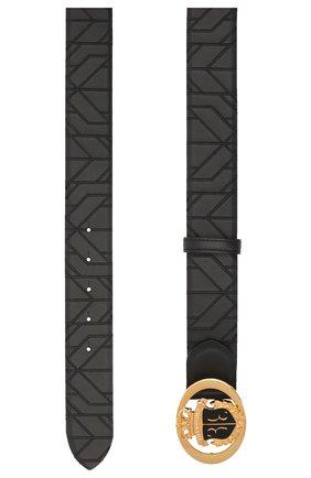 Мужской кожаный ремень BILLIONAIRE темно-серого цвета, арт. O20A MVA0603 BLE029N | Фото 2
