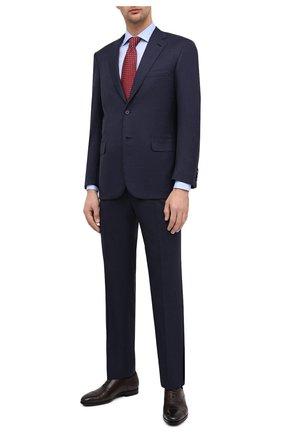 Мужской шерстяной костюм BRIONI темно-синего цвета, арт. RA0J0X/09A94/BRUNIC0 | Фото 1