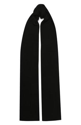 Мужской шарф из кашемира и шелка DOLCE & GABBANA черного цвета, арт. GXC71T/JAM9D | Фото 1