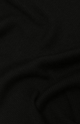 Мужской шарф из кашемира и шелка DOLCE & GABBANA черного цвета, арт. GXC71T/JAM9D | Фото 2