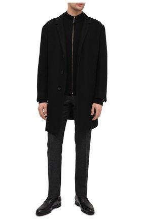 Мужские кожаные ботинки SANTONI черного цвета, арт. MCAZ16775SI5ASKTN01 | Фото 2