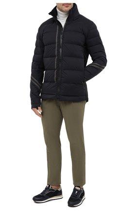 Мужская пуховая куртка hybridge cw CANADA GOOSE черного цвета, арт. 2731MB | Фото 2