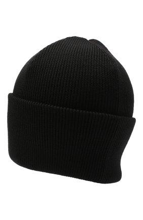 Мужская шерстяная шапка CANADA GOOSE черного цвета, арт. 5023M | Фото 2