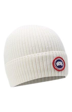Мужская шерстяная шапка CANADA GOOSE белого цвета, арт. 5026M | Фото 1