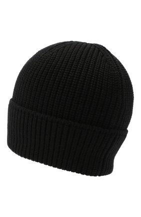 Мужская шерстяная шапка CANADA GOOSE черного цвета, арт. 5026M | Фото 2