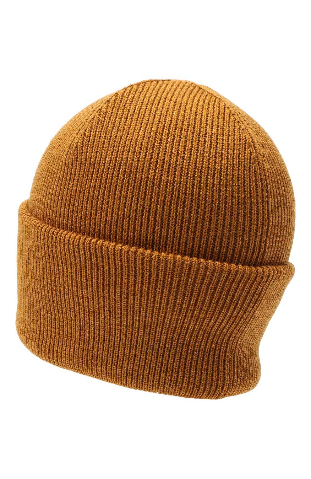 Мужская шерстяная шапка CANADA GOOSE светло-коричневого цвета, арт. 6936M   Фото 2
