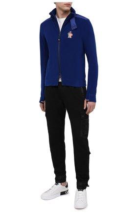 Мужская толстовка MONCLER GRENOBLE темно-синего цвета, арт. F2-097-8G700-00-80093 | Фото 2