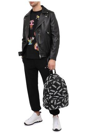 Мужской рюкзак COMME DES FUCKDOWN черно-белого цвета, арт. CDFA507 | Фото 2
