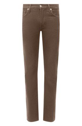 Мужские джинсы TOM FORD бежевого цвета, арт. BVJ35/TFD002 | Фото 1