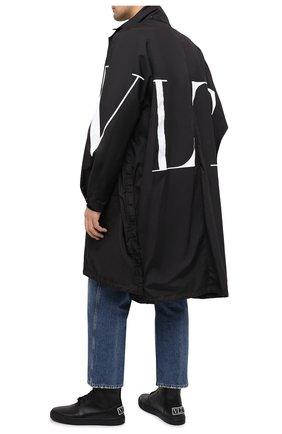 Мужские кожаные кеды valentino garavani VALENTINO черного цвета, арт. UY0S0D94/WMX | Фото 2