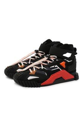 Мужские комбинированные кроссовки ns1 DOLCE & GABBANA разноцветного цвета, арт. CS1818/AW332 | Фото 1