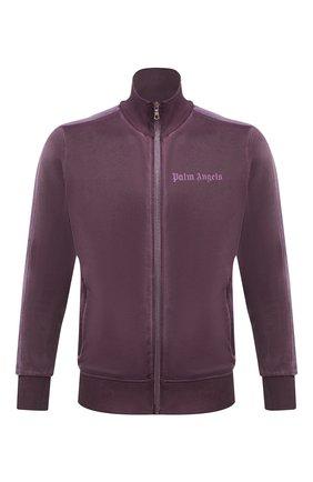 Мужская толстовка PALM ANGELS фиолетового цвета, арт. PMBD001F20FAB0033737 | Фото 1