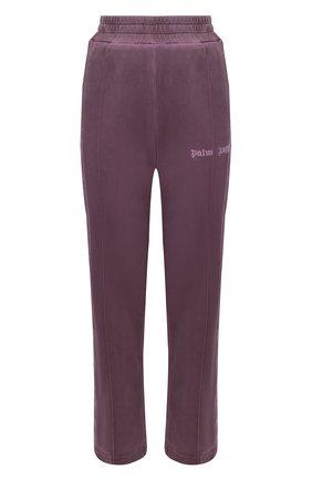 Мужской брюки PALM ANGELS фиолетового цвета, арт. PMCA084F20FAB0033737 | Фото 1