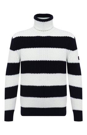 Мужской свитер PAUL&SHARK черно-белого цвета, арт. I20P1428/HYM   Фото 1