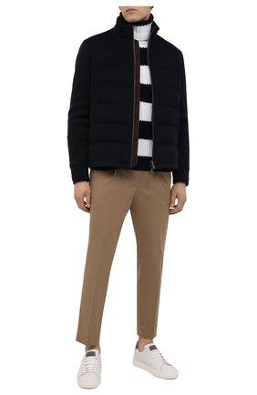Мужской свитер PAUL&SHARK черно-белого цвета, арт. I20P1428/HYM   Фото 2