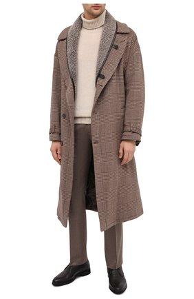 Мужские шерстяные брюки BERWICH бежевого цвета, арт. SC/1 ALC/VB5991 | Фото 2
