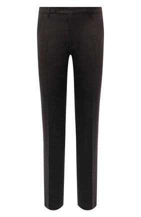Мужские шерстяные брюки BERWICH темно-коричневого цвета, арт. SC/1/RD5470 | Фото 1