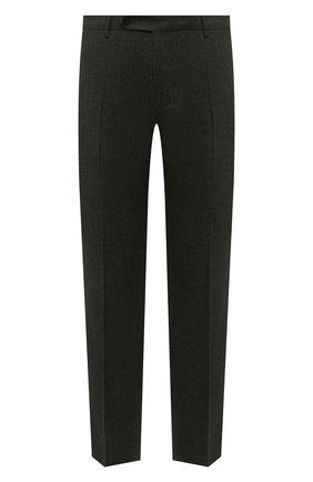 Мужские шерстяные брюки BERWICH темно-зеленого цвета, арт. SC/1/RD5470 | Фото 1