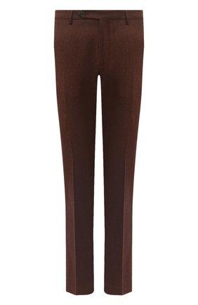 Мужские шерстяные брюки BERWICH коричневого цвета, арт. SC/1/RD5470 | Фото 1