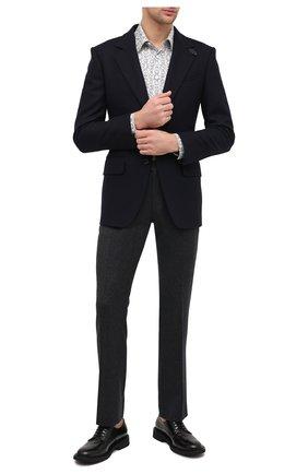 Мужские шерстяные брюки BERWICH темно-серого цвета, арт. SC/1/RD5470 | Фото 2
