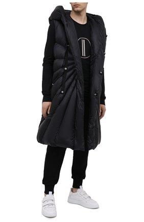 Мужской пуховый жилет moncler + rick owens MONCLER черного цвета, арт. MU20F0006/C0596 | Фото 2