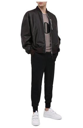 Мужской джоггеры moncler + rick owens MONCLER черного цвета, арт. MU20F0017/C8040 | Фото 2