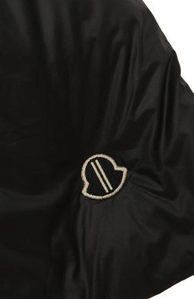 Мужской пуховый шарф moncler + rick owens MONCLER черного цвета, арт. MU20F0028/C0594 | Фото 2