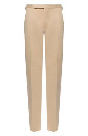 Мужской хлопковые брюки RALPH LAUREN кремвого цвета, арт. 798819420 | Фото 1