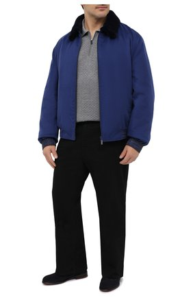 Мужские джинсы BILLIONAIRE черного цвета, арт. W20C MDT2275 BTE001N | Фото 2