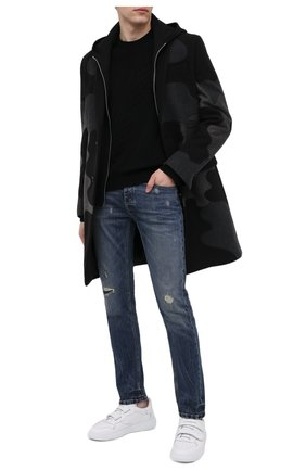 Мужской пальто из шерсти и кашемира PHILIPP PLEIN серого цвета, арт. A20C MRA0336 PTE003N | Фото 2