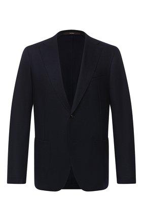 Мужской пиджак WINDSOR темно-синего цвета, арт. 13 VAST0-0E-J 10010263   Фото 1