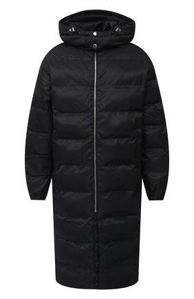 Мужская утепленное пальто 1017 ALYX 9SM черного цвета, арт. AAU0U0170FA01   Фото 1