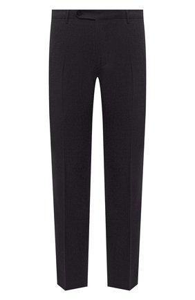 Мужской шерстяные брюки BERWICH темно-фиолетового цвета, арт. SC/1/RD5470 | Фото 1