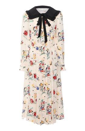 Женское шелковое платье ALESSANDRA RICH разноцветного цвета, арт. FAB2207-F2901 | Фото 1