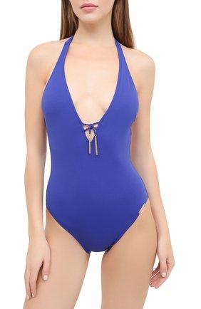 Женский слитный купальник LISE CHARMEL синего цвета, арт. ABA9703 | Фото 2