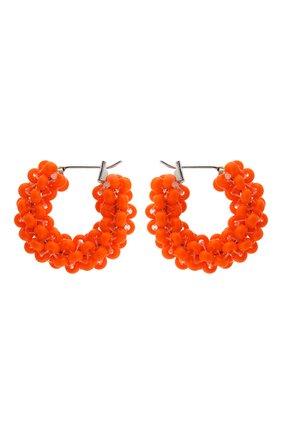 Женские серьги HIAYNDERFYT оранжевого цвета, арт. 1405.1 | Фото 1