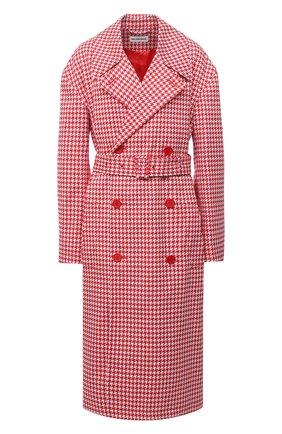 Женское пальто BALENCIAGA красного цвета, арт. 626569/TIP05 | Фото 1