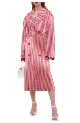 Женское пальто BALENCIAGA красного цвета, арт. 626569/TIP05 | Фото 2