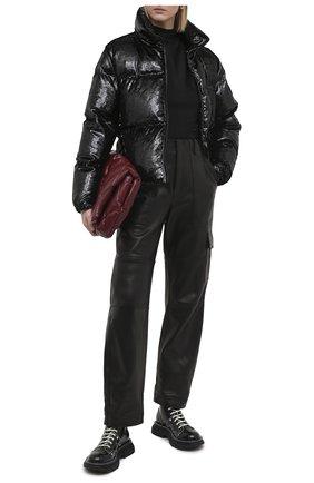 Женский топ из вискозы RTA черного цвета, арт. WF0522-7124FZBK | Фото 2