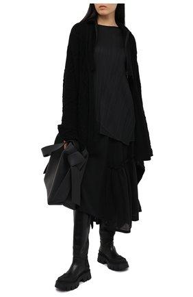 Женская топ ISSEY MIYAKE черного цвета, арт. PP08-JT782 | Фото 2