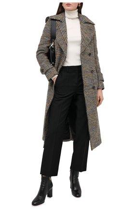 Женские кожаные ботильоны SANTONI черного цвета, арт. WTRB59048HI2A0TDN01 | Фото 2
