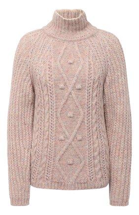 Женский шерстяной свитер FORTE_FORTE разноцветного цвета, арт. 7863 | Фото 1
