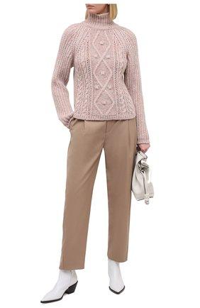 Женский шерстяной свитер FORTE_FORTE разноцветного цвета, арт. 7863 | Фото 2