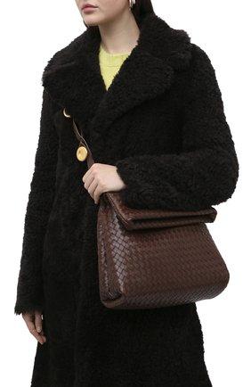 Женская сумка bv fold BOTTEGA VENETA коричневого цвета, арт. 642764/V08Z1 | Фото 2