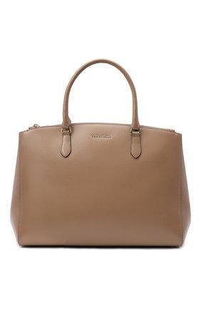 Женская сумка sortie large COCCINELLE бежевого цвета, арт. E1 GN6 18 03 01 | Фото 1