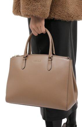 Женская сумка sortie large COCCINELLE бежевого цвета, арт. E1 GN6 18 03 01 | Фото 2