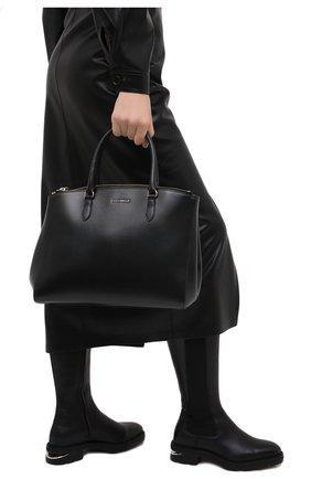 Женская сумка sortie large COCCINELLE черного цвета, арт. E1 GN6 18 03 01 | Фото 2