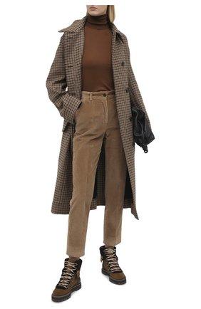 Женские замшевые ботинки SEE BY CHLOÉ коричневого цвета, арт. SB31120A/12290 | Фото 2