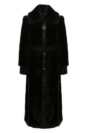 Женская шуба из экомеха STELLA MCCARTNEY черного цвета, арт. 601140/SPB09 | Фото 1