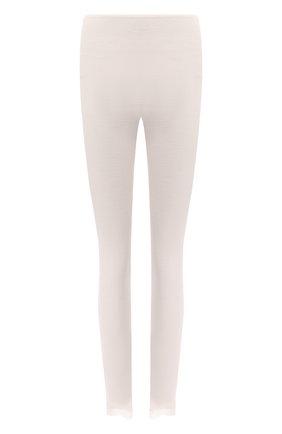 Женские леггинсы из шерсти и шелка HANRO кремвого цвета, арт. 072847 | Фото 1
